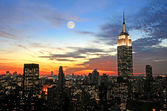 New York City midtown skyline — Stock Photo
