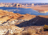 The Lake Powell in Glen Canyon — Stock Photo