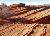 A rock formation in the glen canyon — Stock Photo