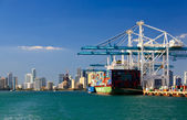 The Port of Miami — Stock Photo