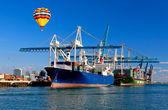De haven van miami — Stockfoto