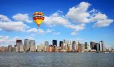 The Lower Manhattan Skyline — Stock Photo