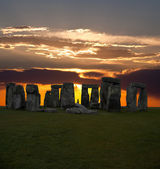 The famous Stonehenge in England — Stock Photo