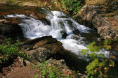 Water streams and cascades — Stock Photo