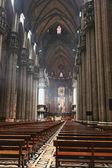 The interior of Duomo Milan — Stock Photo