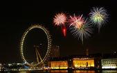 Millenium wheel - london eye — Stok fotoğraf