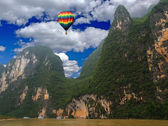 A scenery landscape of China — Foto Stock