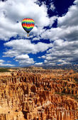 The landscape of The Bryce Canyon — Stock Photo