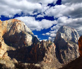 The Zion National Park — 图库照片