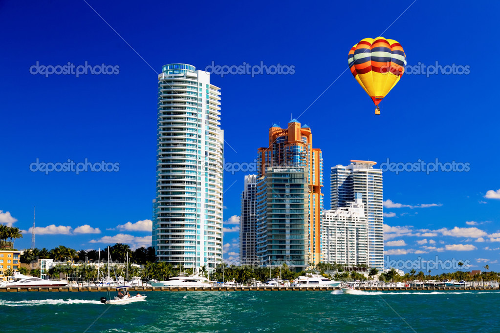 Buildings in Miami Beach