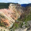 The Grand Canyon of the Yellowstone — Stock Photo