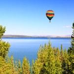The Yellowstone lake in the Yellowstone — Stock Photo #29401845