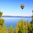 Yellowstone lake in Yellowstone — Stock Photo #29401845