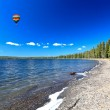 The Lewis Lake in the Yellowstone — Stock Photo #29401867