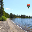 The Lewis Lake in the Yellowstone — Stock Photo #29401877