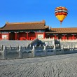 The historical Forbidden City Museum — ストック写真