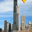 The Sears Tower in Chicago — Stock Photo