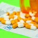 The prescription medication — Stock Photo
