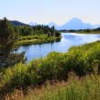 Oxbow Bend Turnout in Grand Teton — 图库照片 #29403235
