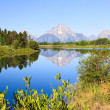 The Oxbow Bend Turnout in Grand Teton — Stockfoto