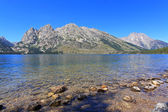 Jenny Lake in Grand Teton National Park — Stock Photo
