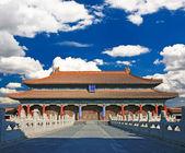 La histórica ciudad prohibida en beijing — Foto de Stock