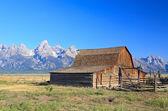 Moulton Barn at Grand Teton — Stock Photo