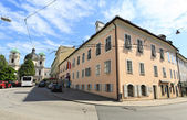 The Mozarts Residence Museum in Salzburg — Foto de Stock