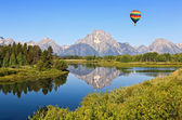 Le parc national de grand teton — Photo