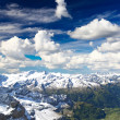 Snow covered mountains in Swizerland — Stock Photo