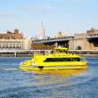 Stock Photo: The NYC water taxi in East River