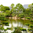 A famous traditional Japanese garden — Stockfoto