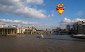 Aerial view of City of London — Stock Photo