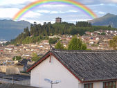 Lijiang City in China — Stock Photo