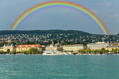 The cityscape of Zurich city — Foto de Stock