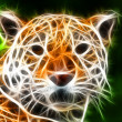 Stock Photo: Tiger art Design