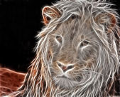 Lion art Design — Stock Photo