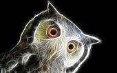Pták umění design — Stock fotografie