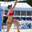 Brittany Hochevar (USA) during the FIVB International Beach Volleyball tournament — Stock Photo