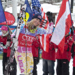 FRA: Alpine skiing Val D'Isere Super Combined — Stock Photo