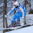 FRA: Alpine skiing Val D'Isere Women DH trg2. Anja Paerson. — Stock Photo