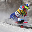 FRA: Alpine skiing Val D'Isere men's slalom. MURISIER Justin. — Stock Photo