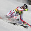 FRA: Alpine skiing Val D'Isere men's slalom. DREIER Christoph. — Stock Photo
