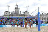 GBR: FIVB International London 12.08.2011 — Stock Photo