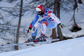 FRA: Alpine skiing Val D'Isere Women DH trg2 — Stock Photo