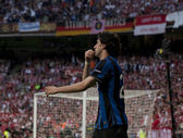 Football: Champions League Final 2010. Diego Milito — Stock Photo