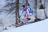 FRA: Alpine skiing Val D'Isere Women DH trg2. Alice Mckennis. — Stock Photo