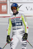 FRA: Alpine skiing Val D'Isere men's GS. NEUREUTHER Felix. — Stock Photo