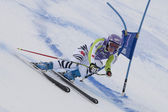 FRA: Alpine skiing Val D'Isere Super Combined. Maria Riesch. — Stock Photo