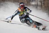 FRA: Alpine skiing Val D'Isere men's slalom. HAUGEN Leif Kristian. — Stock Photo